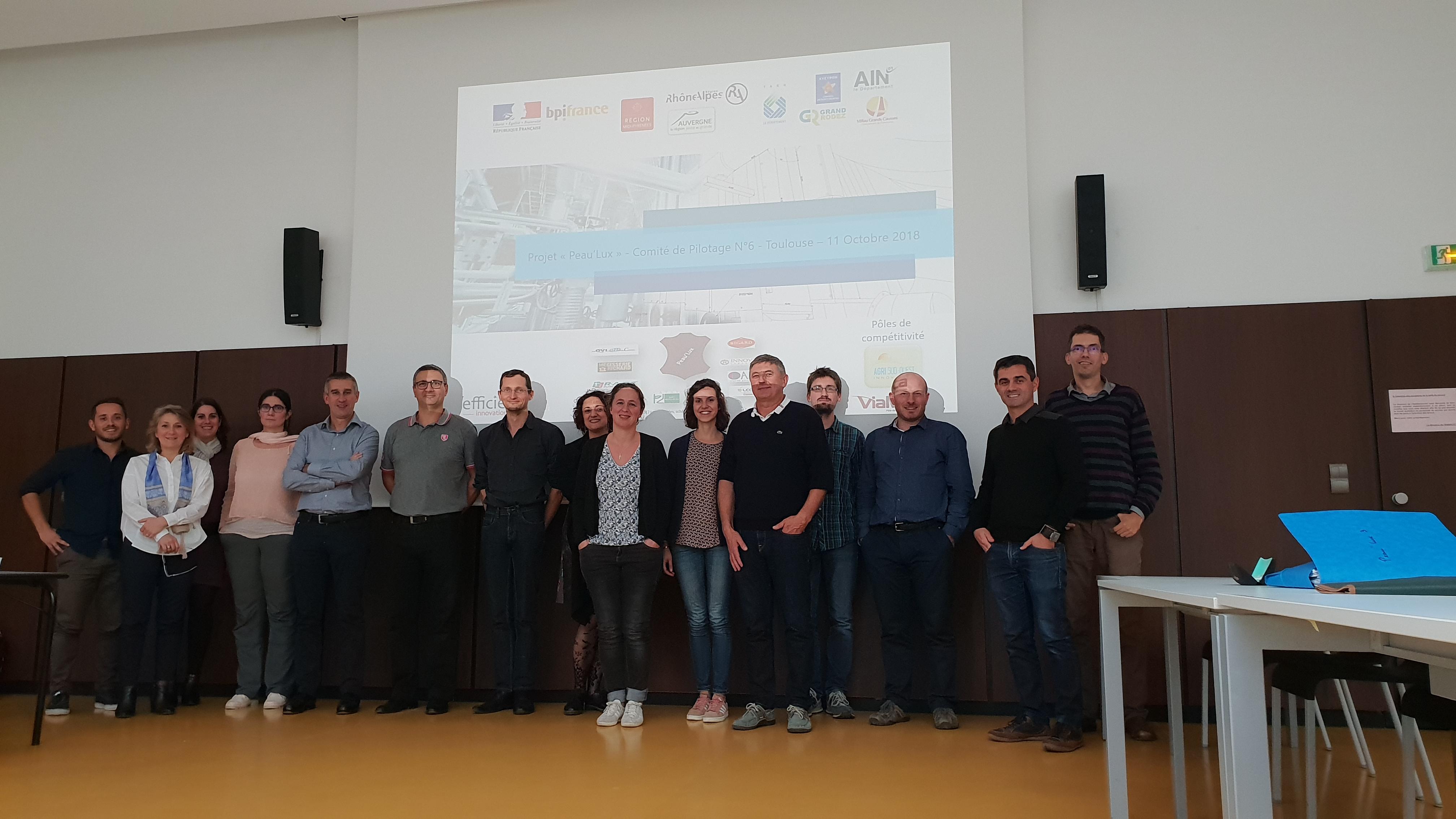 Le CATAR a participé au COPIL 6 du projet Peau'LUX