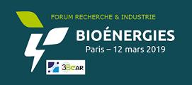 Forum Recherche & Industrie 2019 – Bioénergies